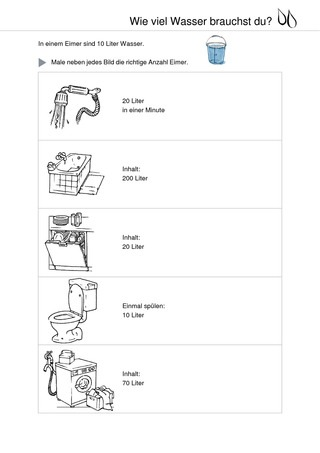 wie viel wasser brauchst du wasserverbrauch verlage. Black Bedroom Furniture Sets. Home Design Ideas
