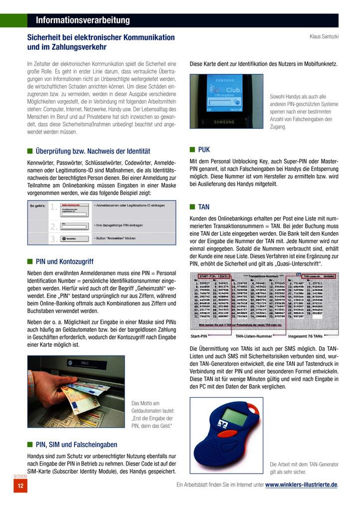 Informationsverarbeitung: Bildungsverlag EINS