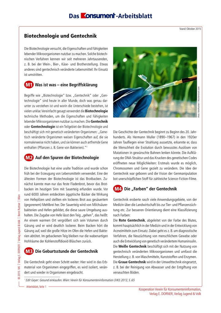 Biotechnologie und Gentechnik: Westermann Gruppe in Österreich