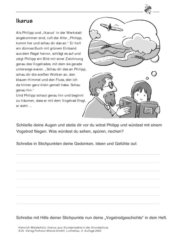 Ikarus Fantasiegeschichte Schreiben Verlage Der Westermann Gruppe