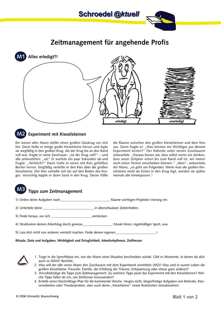 Großzügig Lernfähigkeiten Zeitmanagement Arbeitsblatt Fotos - Super ...