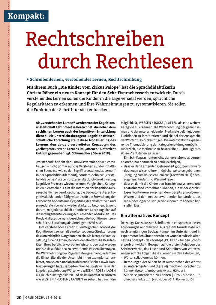 """Rechtschreiben durch Rechtlesen - Mit ihrem Buch """"Die Kinder vom ..."""