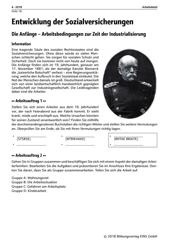 Entwicklung der Sozialversicherungen: Verlage der Westermann Gruppe