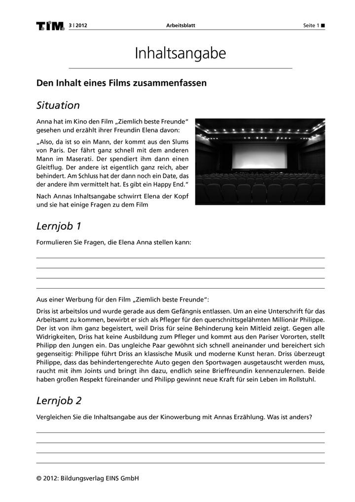 Beste Zusammenfassen Arbeitsblatt Zeitgenössisch - Arbeitsblätter ...