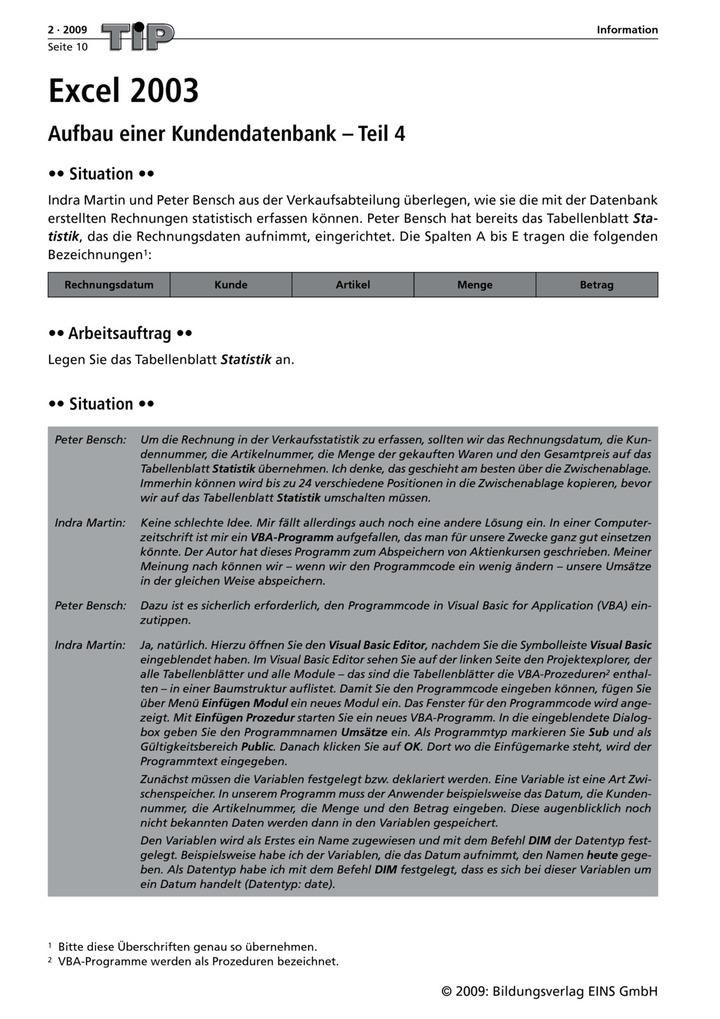 Excel 2003 Aufbau Einer Kundendatenbank Teil 4 Arbeitsblatt