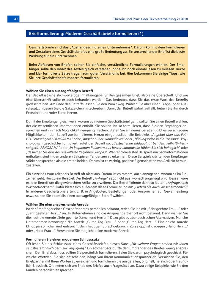 Moderne Geschäftsbriefe Formulieren Verlage Der Westermann Gruppe