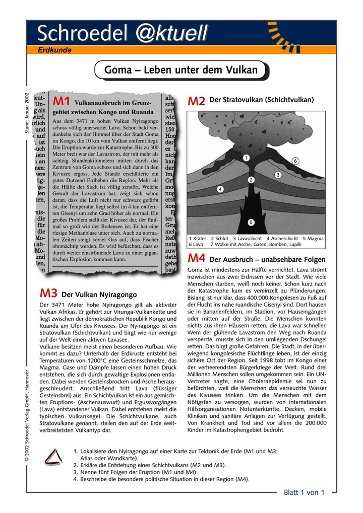 Old Fashioned Vulkane Arbeitsblatt Image Collection - Kindergarten ...