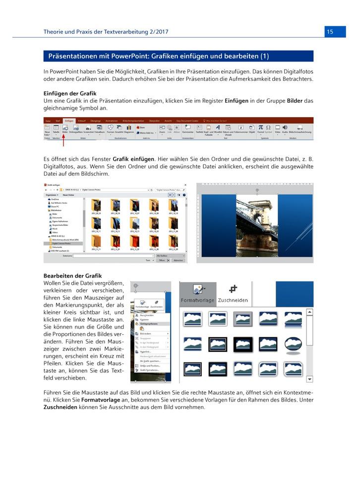 Grafiken einfügen und bearbeiten: Bildungsverlag EINS