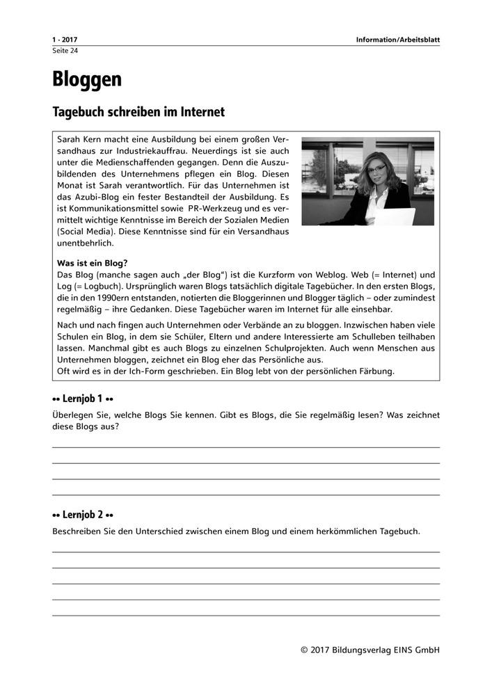 Bloggen: Verlage der Westermann Gruppe
