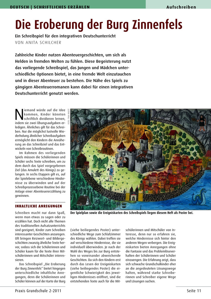 Die Eroberung der Burg Zinnenfels - Ein Schreibspiel für den ...