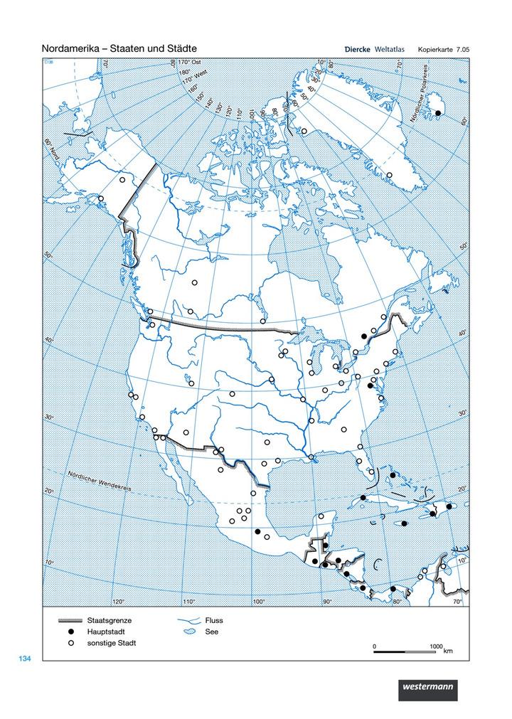 Nordamerika - Staaten und Städte: Verlage der Westermann Gruppe