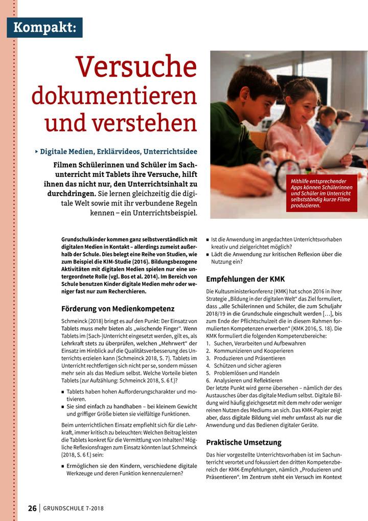 Versuche Dokumentieren Und Verstehen Verlage Der Westermann Gruppe