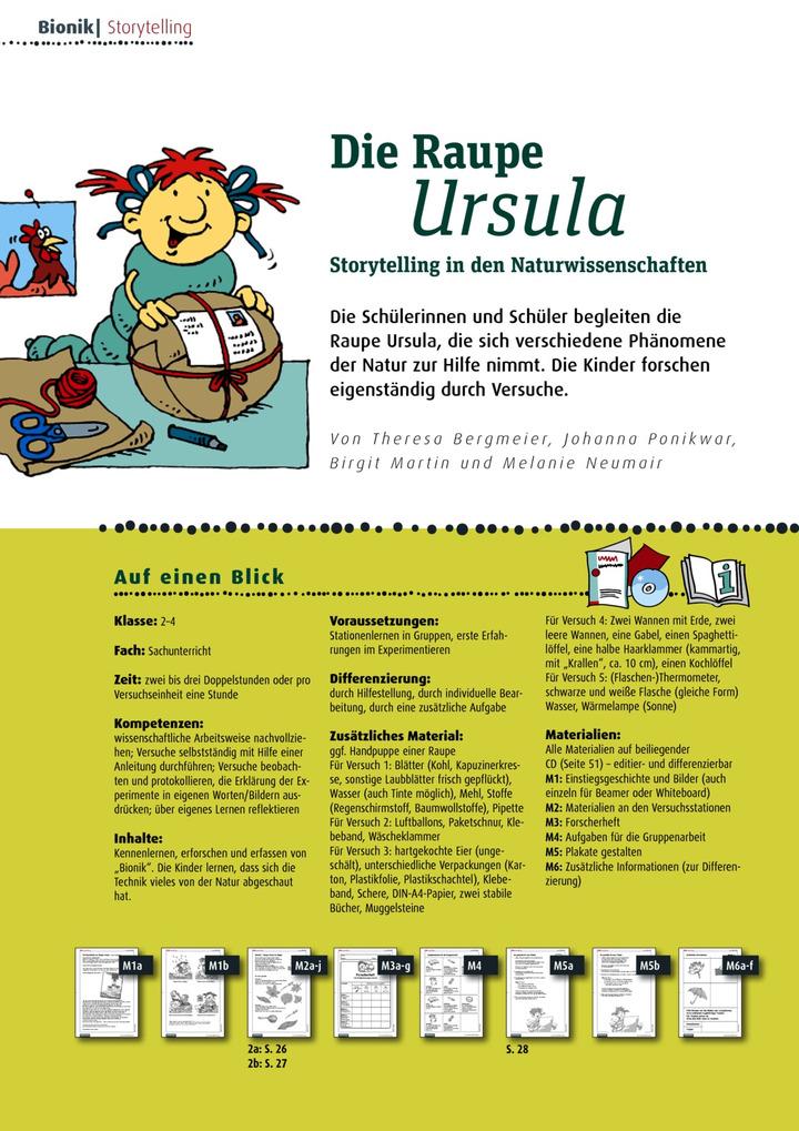 Die Raupe Ursula - Storytelling in den Naturwissenschaften: Verlage ...