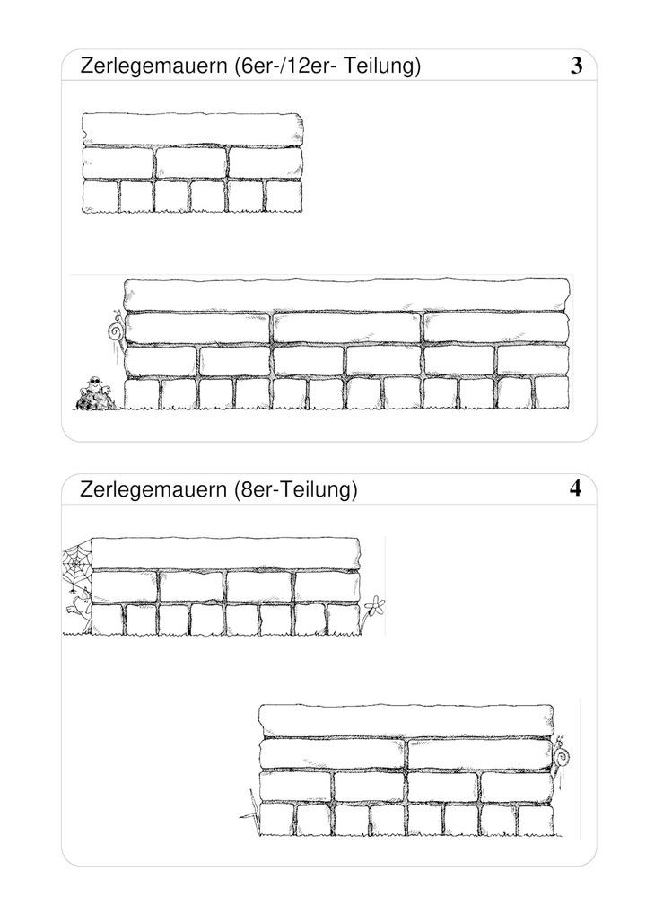 Zerlegemauern - Blankovorlage: Lernando - Schulbücher online kaufen