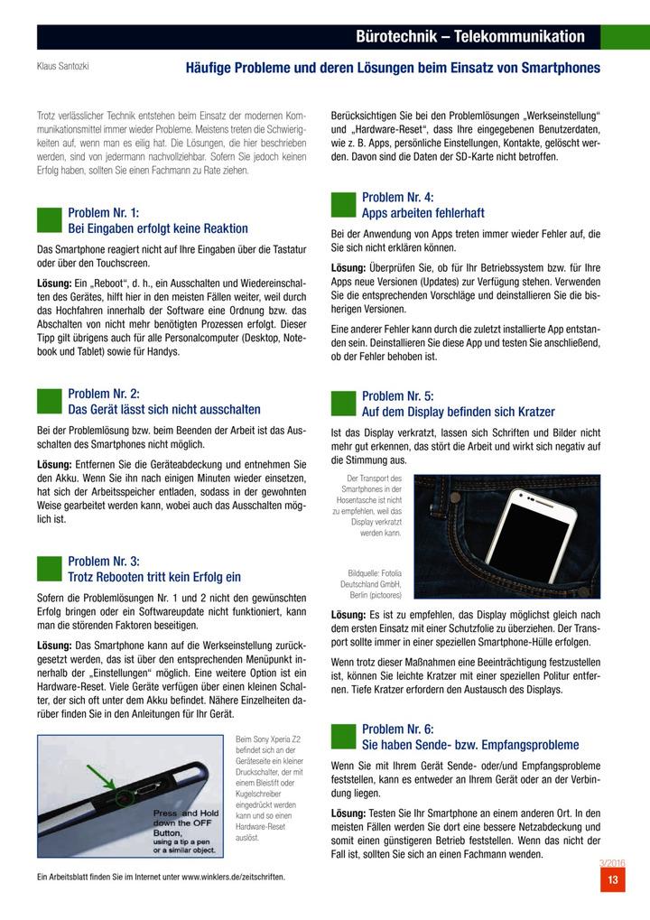 Bürotechnik - Telekommunikation - Häufige Probleme und deren ...