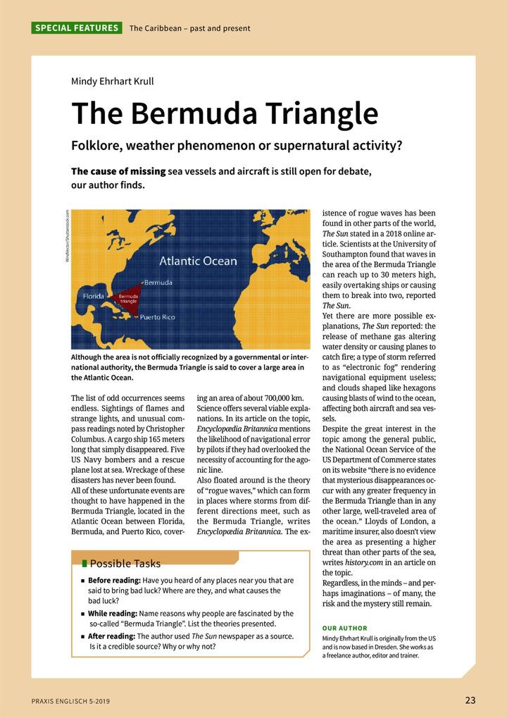 The Bermuda Triangle - Folklore, weather phenomenon or supernatural  activity?