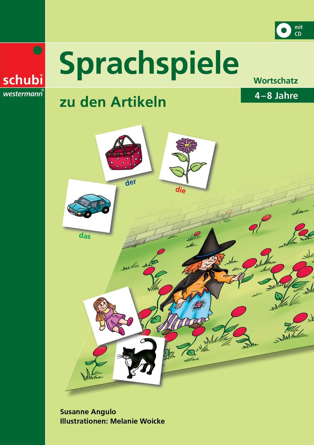 Arbeitsblatt Zu Den Artikeln: Sprachspiele zu den artikeln schubi ...