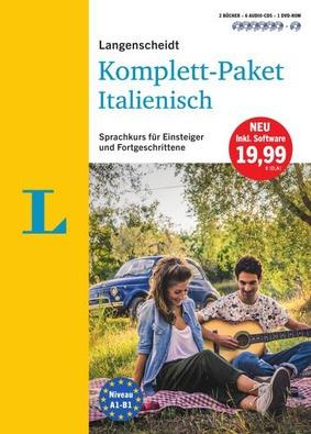 Langenscheidt Komplett Paket Italienisch 2 Bücher 6 Audio Cds 1