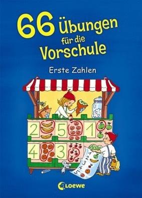 66 übungen Für Die Vorschule Erste Zahlen Lernando Schulbücher