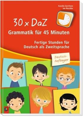 30 X 45 Minuten 30 X Daz Grammatik Für 45 Minuten Deutsch