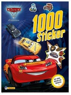Disney Pixar Cars 3 Evolution 1000 Sticker Mit Vielen Ratseln Und Malseiten