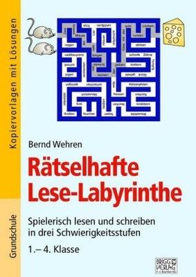 Rätselhafte Lese Labyrinthe Spielerisch Lesen Und Schreiben In