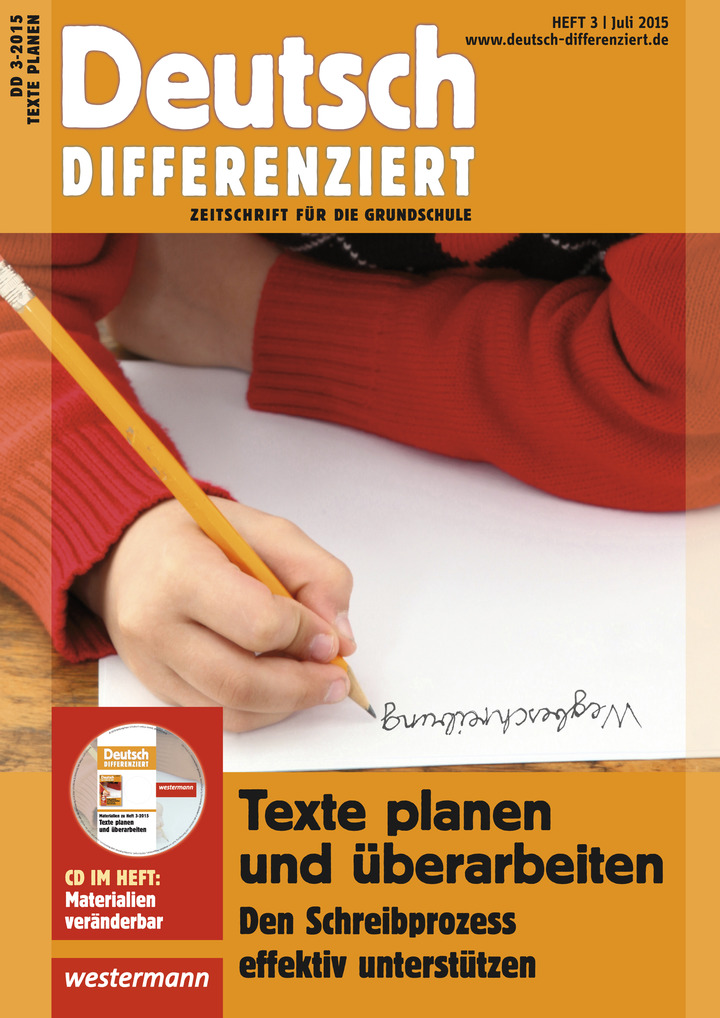 Deutsch differenziert texte planen und berarbeiten den schreibprozess effektiv unterst tzen - Planen englisch ...