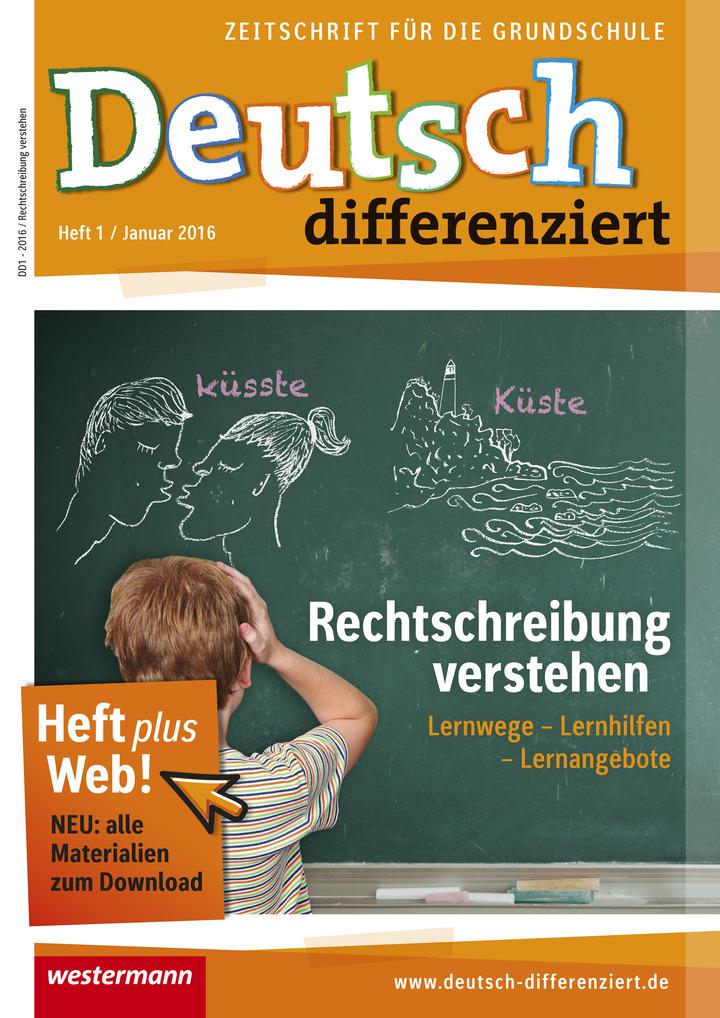 Deutsch differenziert - Rechtschreibung verstehen - Lernwege ...