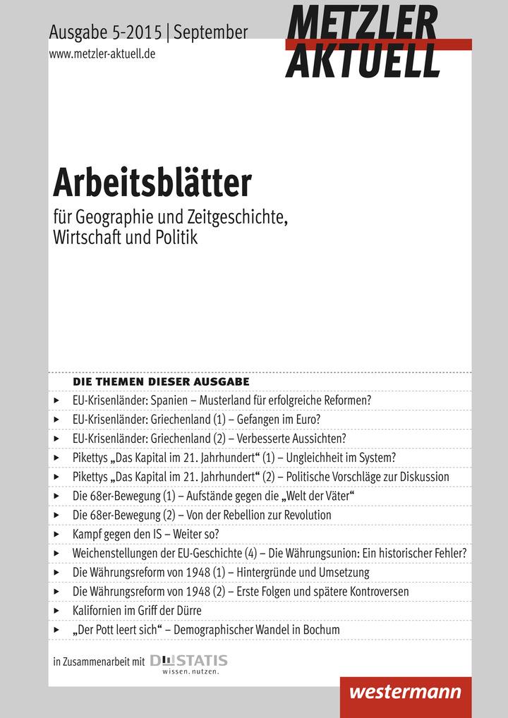 Metzler aktuell - Arbeitsblätter - Ausgabe September 5 / 2015 ...