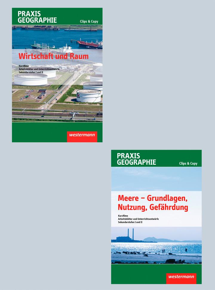 Praxis Geographie Clips&Copy - Paket mit drei DVDs - Kurzfilme und ...