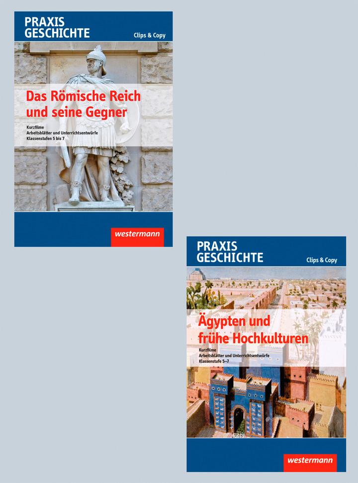 Praxis Geschichte Clips&Copy - Paket mit zwei DVDs - Kurzfilme und ...