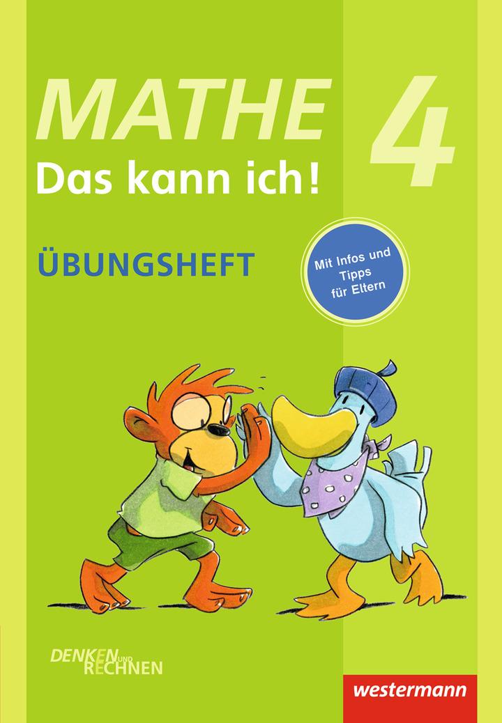 Mathe - Das kann ich! - Übungsheft Klasse 4 - Denken und Rechnen ...
