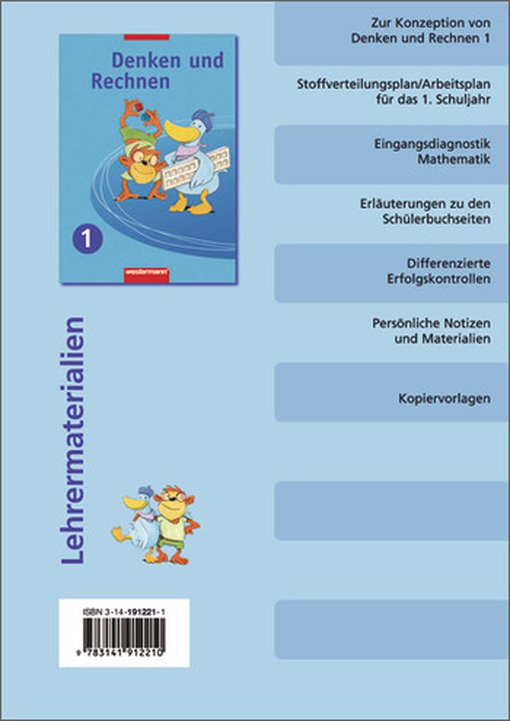 Denken und Rechnen für Grundschulen in Niedersachsen, Nordrhein ...
