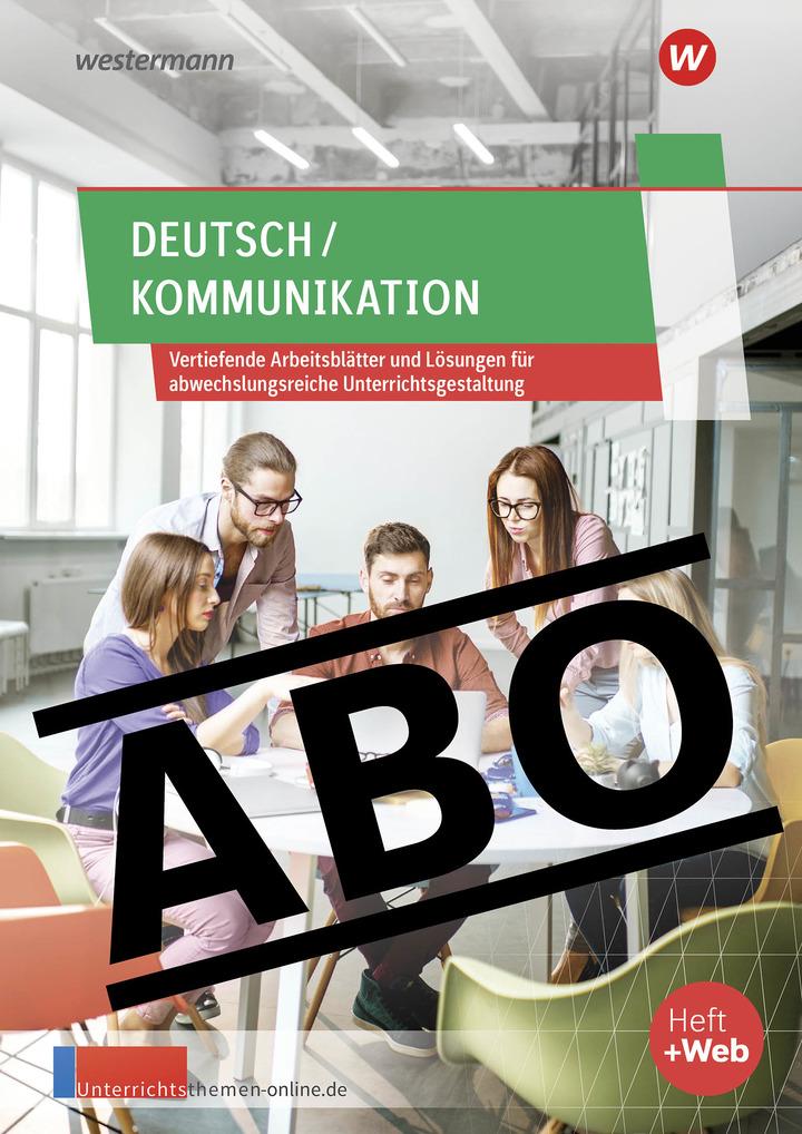 unterrichtsthemen deutsch kommunikation arbeitsbl tter f r ihren unterricht. Black Bedroom Furniture Sets. Home Design Ideas