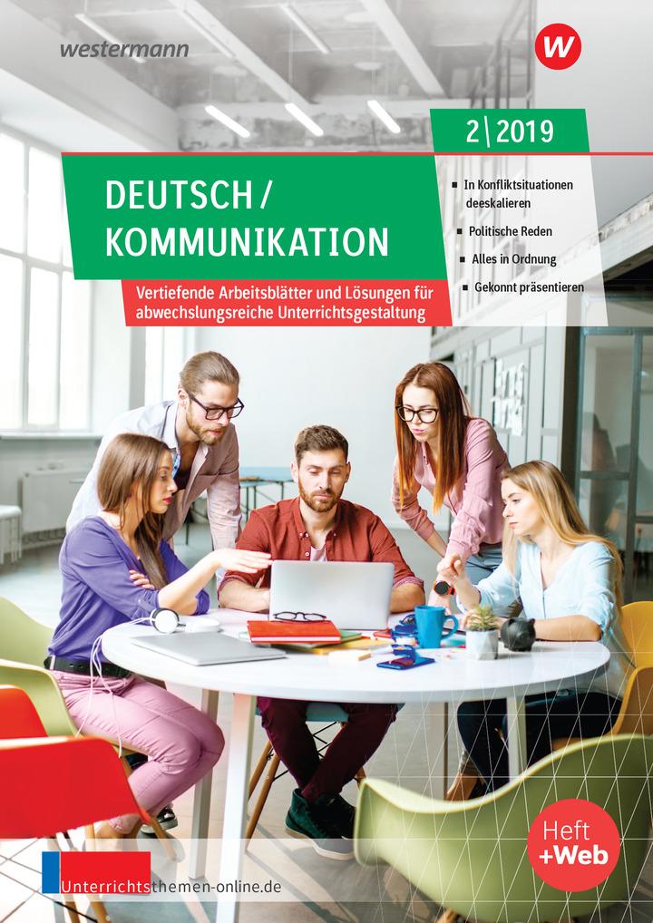 unterrichtsthemen deutsch kommunikation arbeitsbl tter f r ihren unterricht ausgabe 2 2019. Black Bedroom Furniture Sets. Home Design Ideas