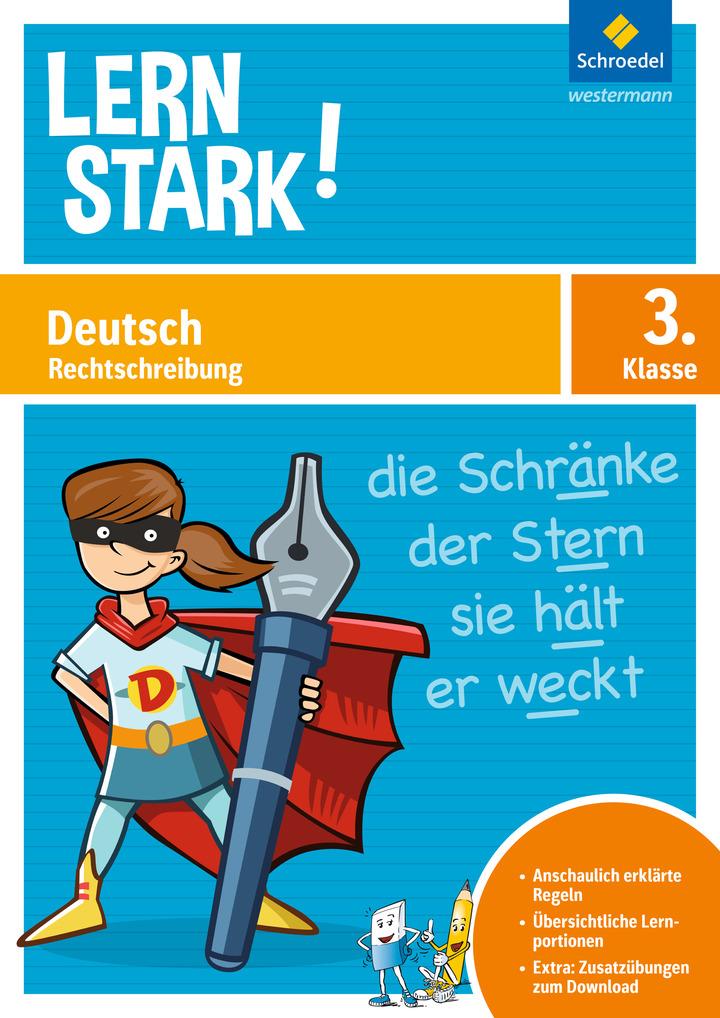 LERNSTARK - Deutsch Rechtschreibung 3
