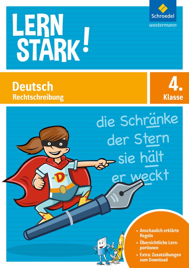 LERNSTARK - Deutsch Rechtschreibung 4: Das Grundschulprogramm der ...