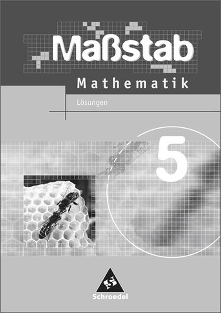 Maßstab - Mathematik für Hauptschulen in Niedersachsen - Ausgabe ...