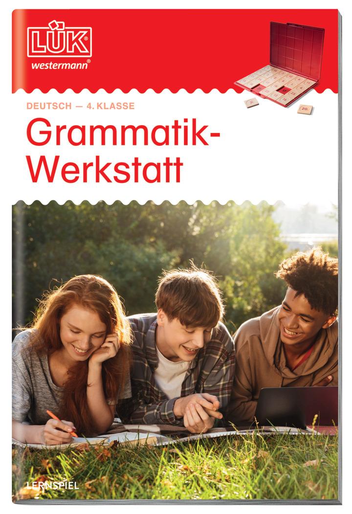 LÜK - Grammatik-Werkstatt 4. Klasse: Das Grundschulprogramm der ...