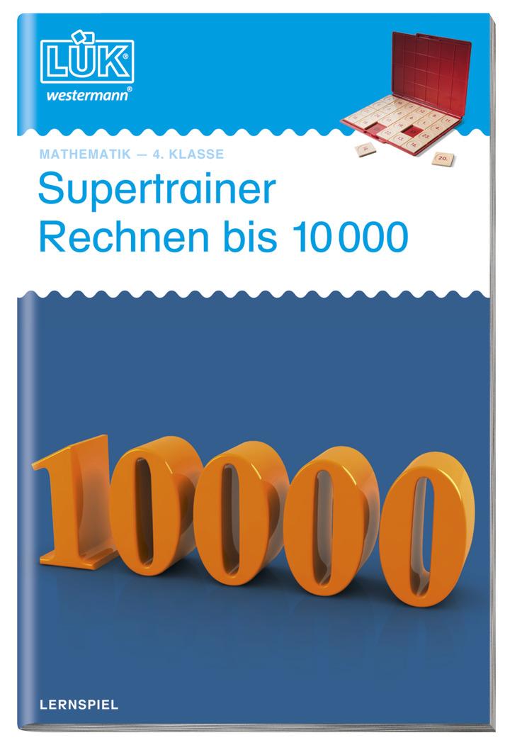 LÜK - Supertrainer Rechnen bis 10000 - Gemischtes Kopfrechnen 4 ...