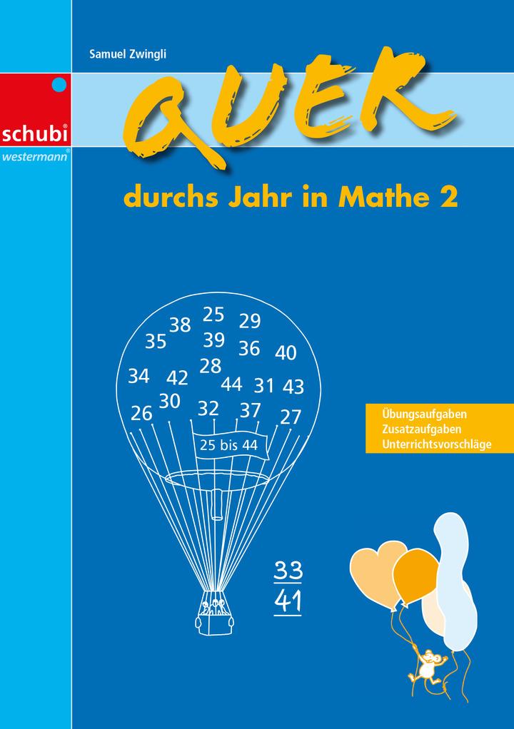 Quer durchs Jahr in Mathe 2: Verlage der Westermann Gruppe