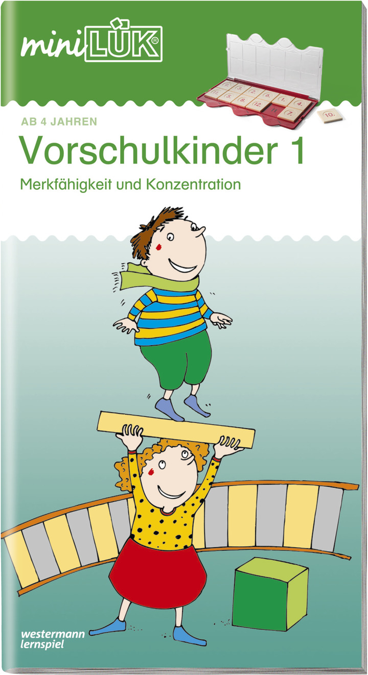 miniLÜK - Kindergarten / Vorschule: LÜK - Lernen, Üben, Kontrollieren