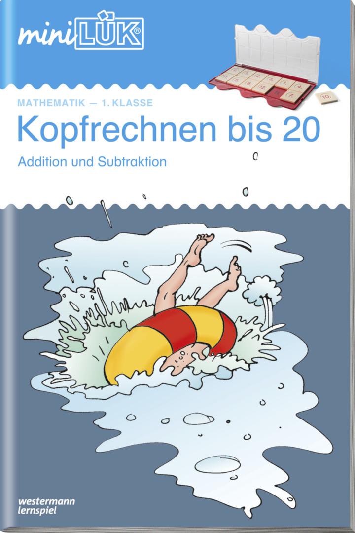 miniLÜK - Kopfrechnen bis 20 - Addition und Subtraktion 1. Klasse ...