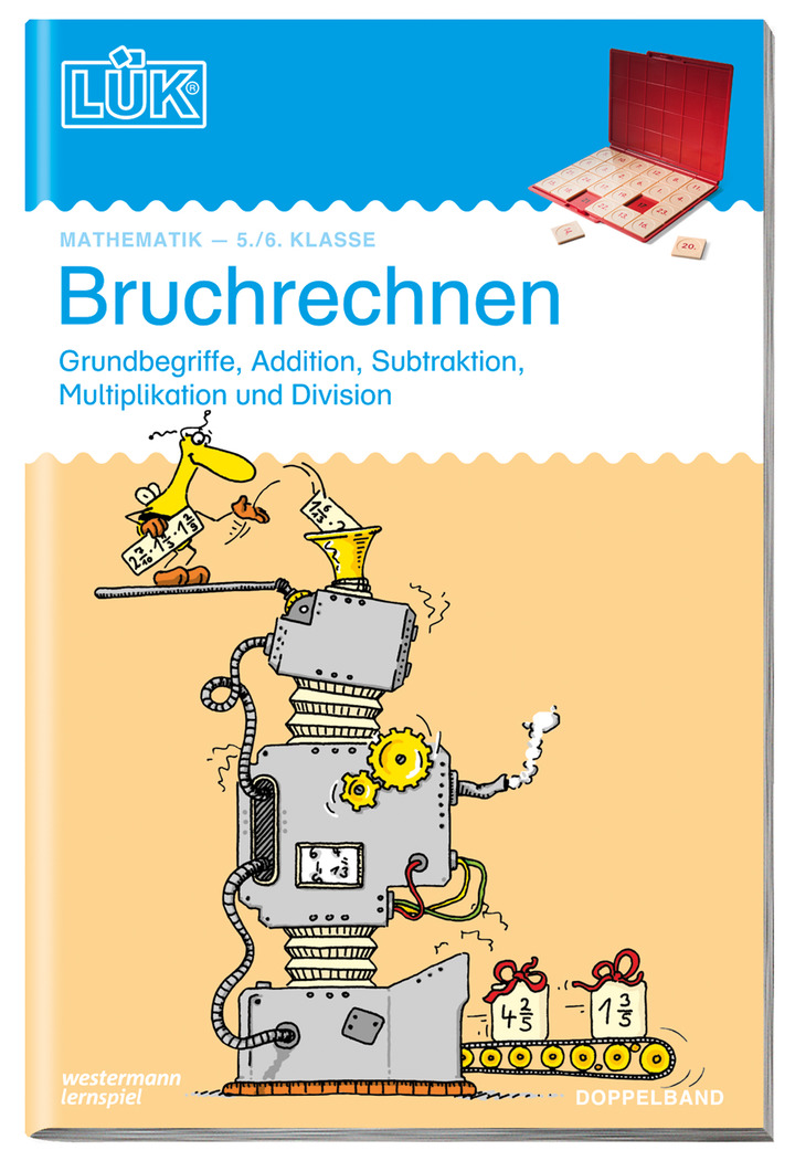 LÜK - Bruchrechnen Doppelband - 5. / 6. Klasse: LÜK - Lernen, Üben ...