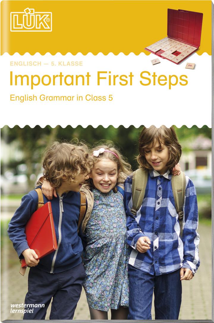 LÜK - Important First Steps - English Grammar in Class 5: LÜK ...