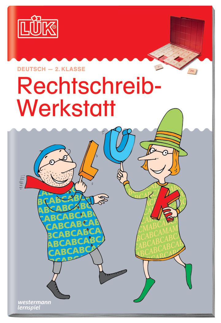 LÜK - Rechtschreibwerkstatt 2. Klasse: Das Grundschulprogramm der ...