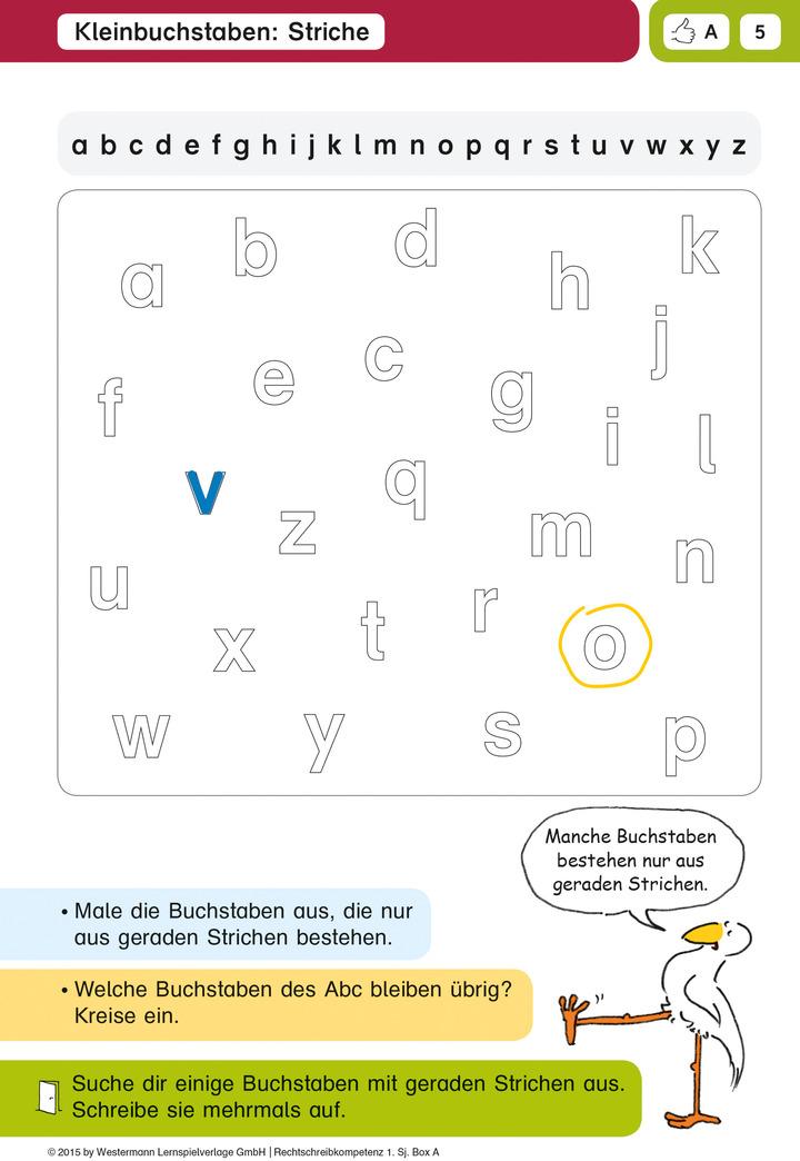 Alles klar! Rechtschreib-Kompetenz - 1. Schuljahr - Box A: Spectra ...