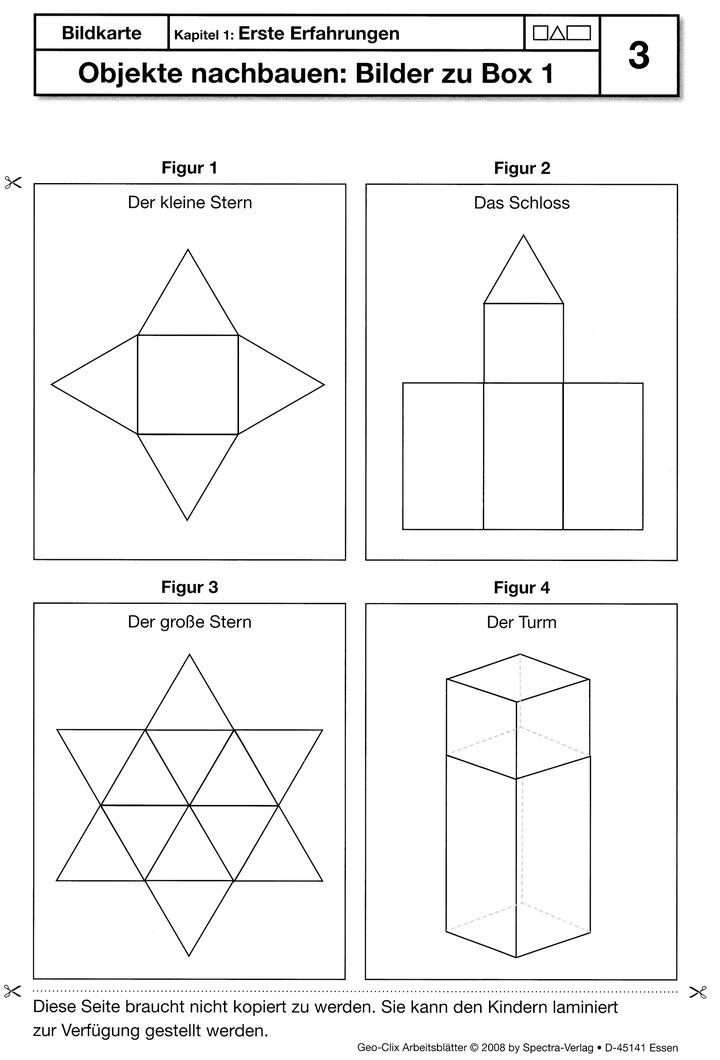 3D Geo-Clix - Ordner mit Arbeitsblätter: Spectra Verlag