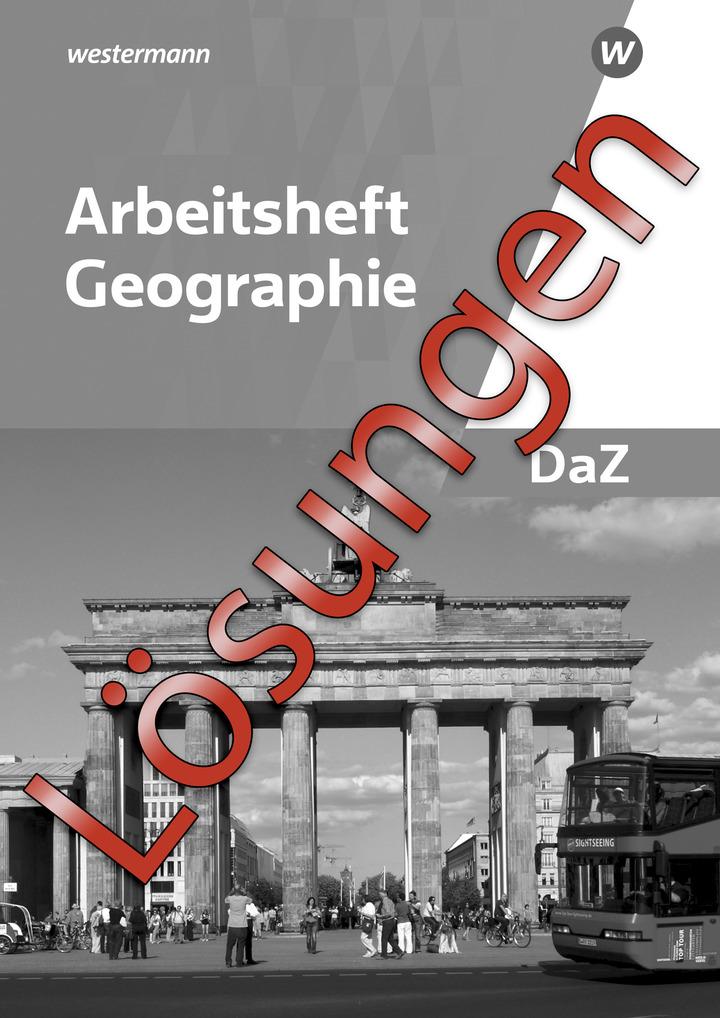 arbeitsheft geographie deutsch als zweitsprache l sungen online westermann gruppe in der. Black Bedroom Furniture Sets. Home Design Ideas