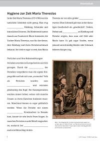 Arbeitsblätter zu Maria Theresia: Westermann Gruppe in Österreich